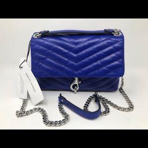 Rebecca Minkoff Edie Crossbody Bag Bright Blue